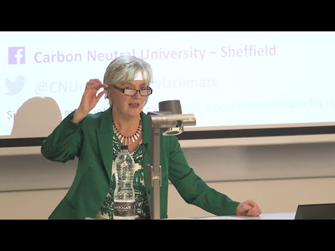 Carbon Neutral University: 'A Local Solution to the Global Climate Crisis' – Linda McAvan MEP