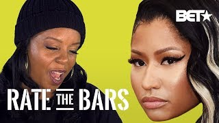 Rah Digga Weighs In On Nicki Minaj's 'No Frauds' | Rate The Bars