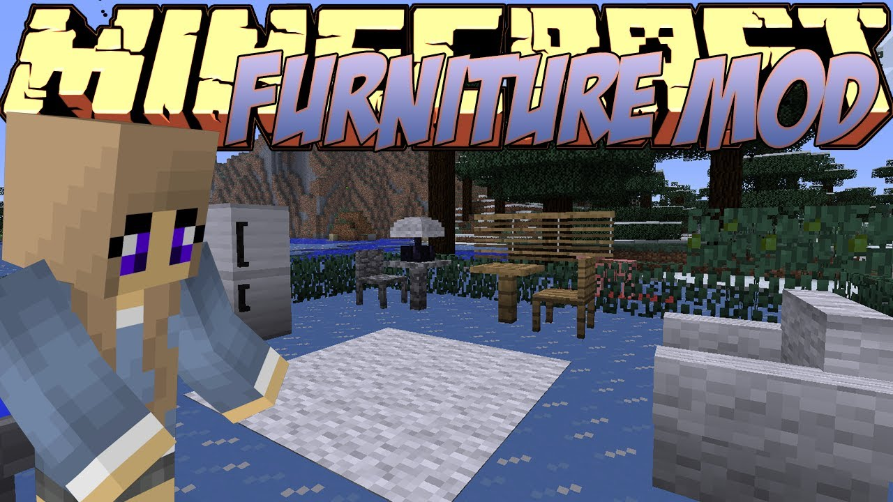 Minecraft mods showcase furniture mod 1 8 1 for Furniture mod 1 12 2