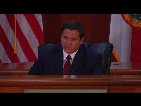 WEB-EXTRA-Florida-Governor-Ron-DeSantis-Holds-COVID-19-Roundtable