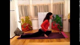 Jivamukti Yoga: Hip Opening & Blossoming Lotus - LauraGYOGA