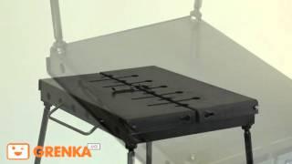 Мангал-чемодан из Украины от  Wood and Steel (Обзор, сборка)