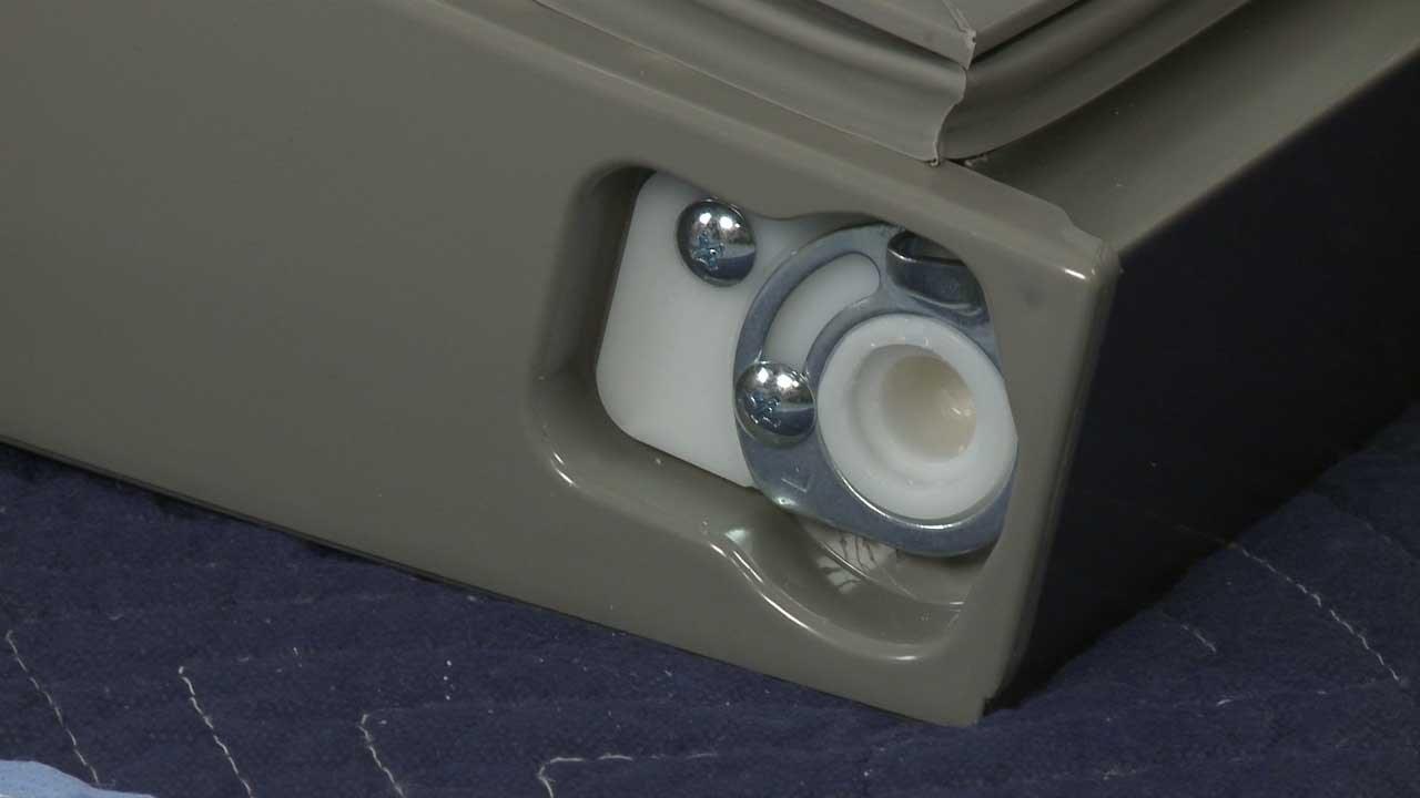 Frigidaire Refrigerator Left Door Stop Replacement #241868402 & Frigidaire Refrigerator Left Door Stop Replacement #241868402 - YouTube