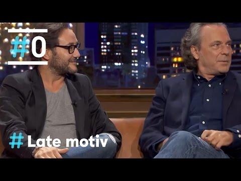 Late Motiv: Entrevista a José Coronado y Carlos Santos #LateMotiv124 | #0