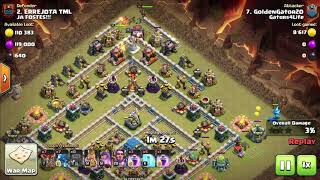 Clash of Clans || 3 STARING MAX TH12 WITH ELECTRO DRAGON AND BALLOONS! BEST TH12 ATTACK!!