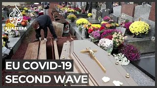 EU countries struggle with rapidly spreading COVID-19 wave