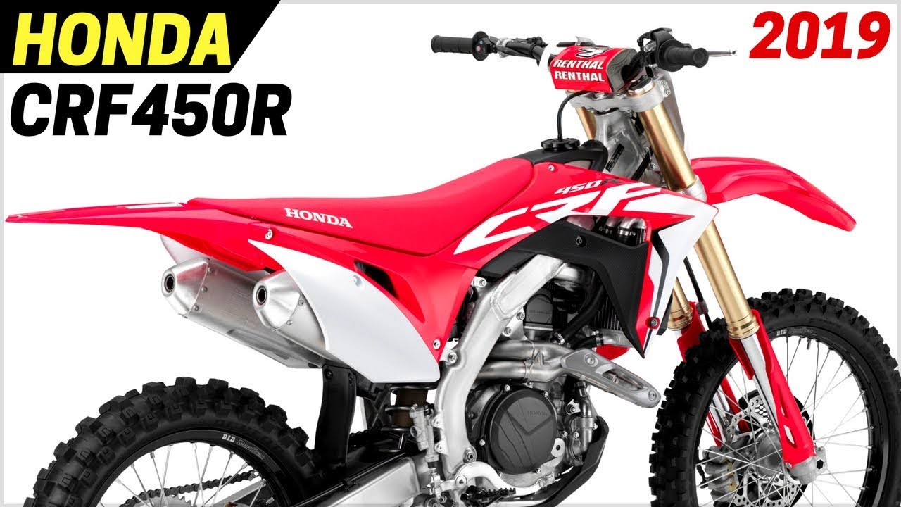 New 2019 Honda Crf450r Works Edition Receives A Number Of