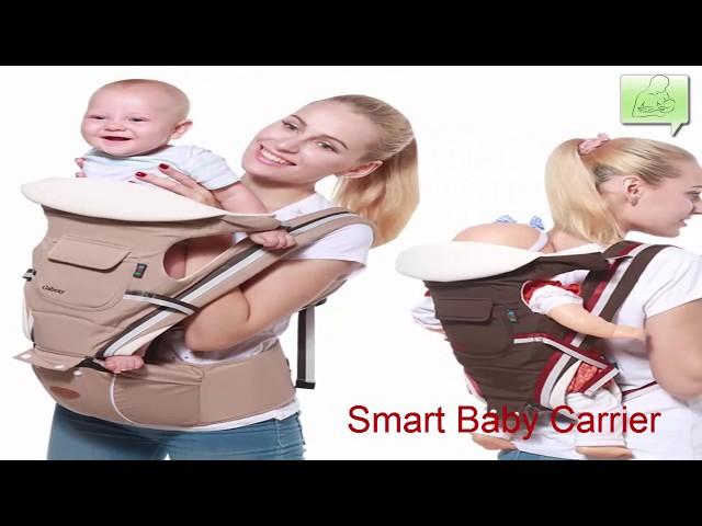 c949c9d5e5a Gabesy Baby Carrier Ergonomic Carrier Backpack Hipseat for newborn and  prevent o-type - YouTube
