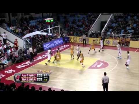 Micheal madanly CBA season 14-15 Jilin vs Chongqing