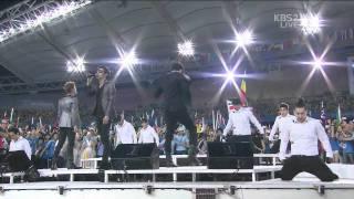 110904 JYJ | Empty | IAAF Track and Field World Championships Daegu 2011 closing ceremony