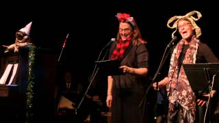 "Beth Gilleland and Carla Noack, ""Angel in the Christmas Play,"" Dan Chouinard (piano)"