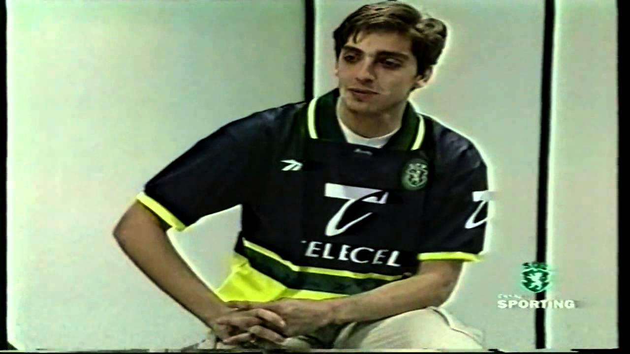 Beto (Sporting) e Carlos Cunha (Actor) em 25/02/1999