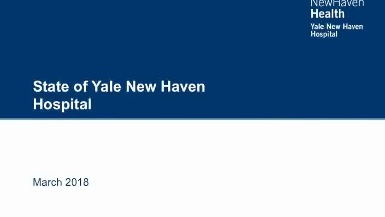 State of Yale New Haven Hospital and Health System