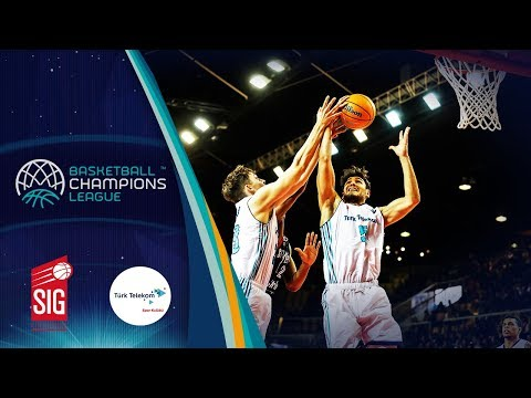 Sig Strasbourg V Türk Telekom – Highlights – Basketball Champions League 2019-20