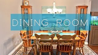 Dining Room Upcycle & Bargain Shopping Decor | Reno Ready : Ep. 2