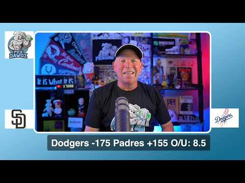 Los Angeles Dodgers vs San Diego Padres Free Pick 8/12/20 MLB Pick and Prediction MLB Tips