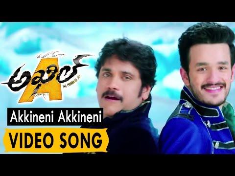 Akkineni Akkineni Video Song    Akhil...