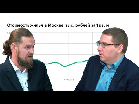 Олег Репченко (IRN.RU) – о ценах на жилье в Москве