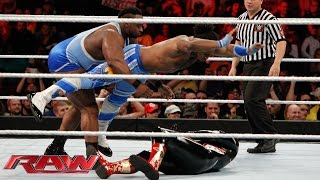 The New Day vs. Gold & Stardust: Raw, December 15, 2014