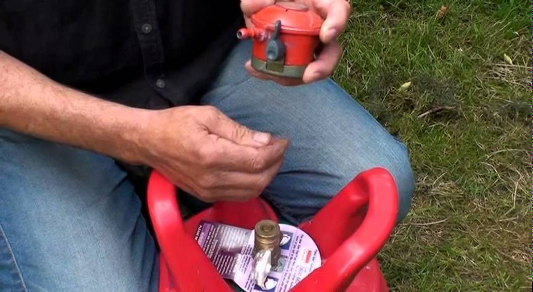 How To Connect Calor Gas Bottles To A Bbq Or Patio Heater   YouTube