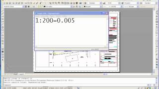 Autocad:Implementing scales in drawings (e g 1:200)