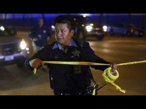 Chicago police say officers were 'targeted' in shooting