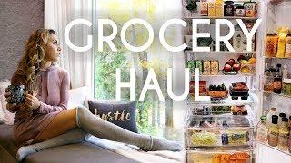 Healthy Grocery Haul - Fridge Tour