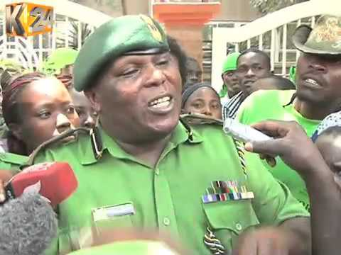 NYS Youth involved in slum projects protest over delayed payment