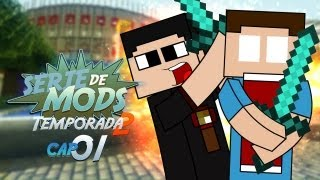 Minecraft: Serie de Mods con Alk4pon3 y Tum Tum!! Ep. 1