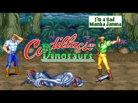 Cadillac and Dinosaurs--Nostalgia kembali game 1990an - 동영상
