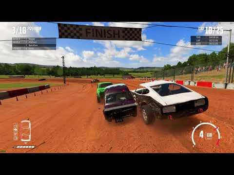 Wreckfest Racing - Bloomfield Speedway 25 laps