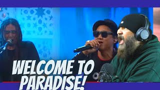 Steven & Coconuttreez - Welcome To My Paradise (Official Music Video) Budda Slims Reaction