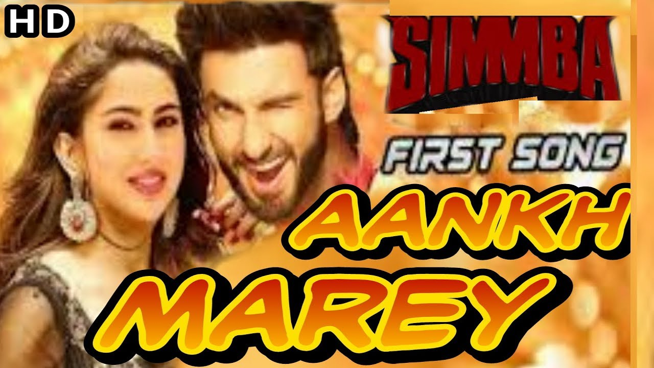 aankh mare hd video song download simba