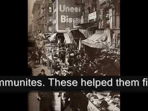 Immigration 1900-1920's