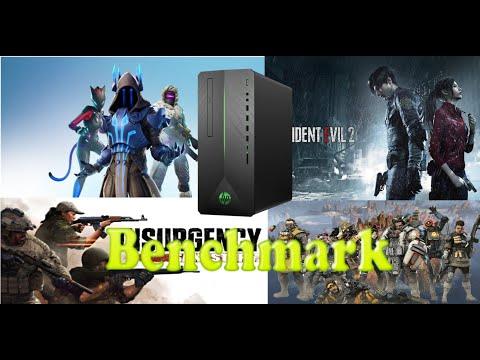 HP Pavilion Gaming Desktop 690-00xx BenchMark (FORTNITE