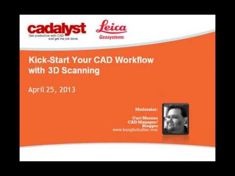 Webinar: Kick-Start Your CAD Workflow with 3D Scanning