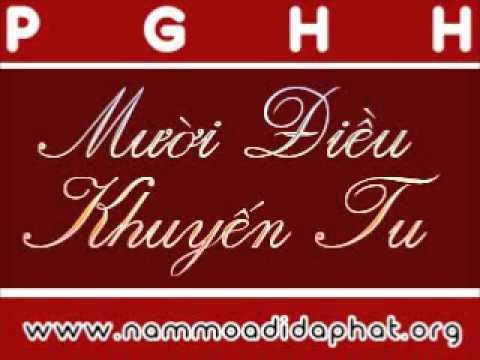 PGHH: 10 Điều Khuyến Tu (NamMoADiDaPhat.org)