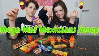 SNOEP TEST MEXICO!! + GiveAway - Mega Maf Mexicaans Snoep! - Bibi en Tobias (Nederlands)