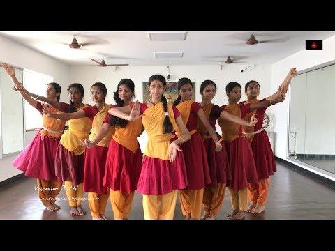 Sridevi Nrithyalaya - Bharatanatyam Dance - Sivaranjani Varnam Jathi