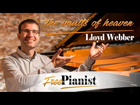 The vaults of heaven - KARAOKE / PIANO ACCOMPANIMENT - Whistle down the wind - Lloyd Webber