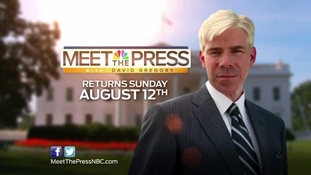 'Meet The Press' returns next Sunday