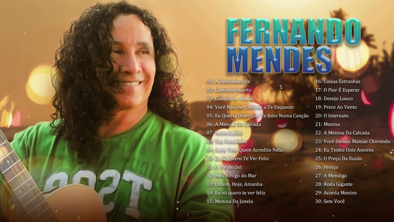 FernandoMendes - As Melhores Músicas Românticas Inesquecíveis |Melhores Músicas anos 70 80 e 90s