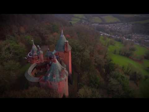 Castell Coch - The Red Castle. Cardiff. Wales