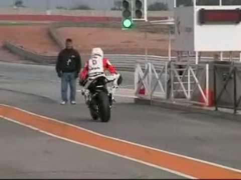 Moto2, Bimota Hb4  - Pilota: Danilo Marrancone - Cartagena
