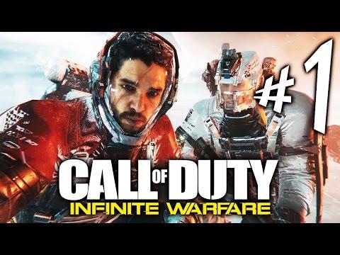 Call of Duty Infinite Warfare - Parte 1: Jon Snow Malvadão Do Espaço! [ Playstation 4 Playthrough ]