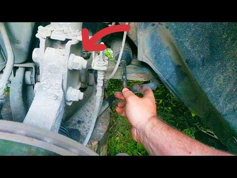 КАК заменить рулевой наконечник Renault/Dacia Logan, Sandero, MCV, Largus
