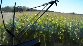 Riding in the Chopper with Moniz Dairy Farms in Little Compton Oct 1 2013