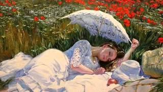 Elizabethan Serenade by Ronald Binge.(Paintings by Vladimir  Volegov)