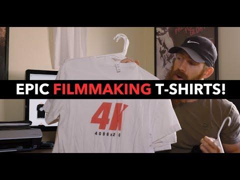 Amazing FILMMAKING T-Shirts & Products!