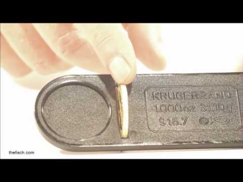 How to detect a fake Krugerrand with The Fisch